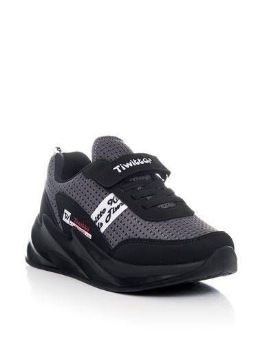 Tonny Black Siyah Çocuk Spor Ayakkabı Tbz11  Siyah